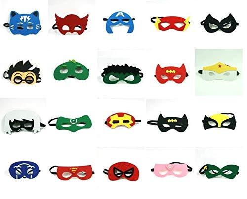 Superhero Party Supplies Superhero Masks - for Kids