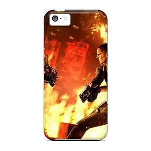 DrawsBriscoe Iphone 5c Bumper Hard Phone Cases Allow Personal Design Beautiful Rise Against Image [RGV1350aCxB]
