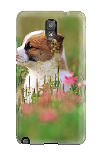 Ultra Slim Fit Hard BarryRBullock Case Cover Specially Made For Galaxy Note 3- Puppy In The - Designer Jeremy