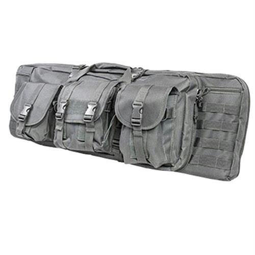 NcStar Vism Double Rifle Carbine Case, Urban Gray, 36-Inch