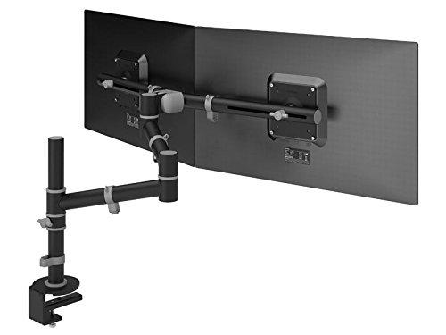 Dataflex Monitorhalterung, Metall, schwarz, 70 x 65.2 x 50.5 cm