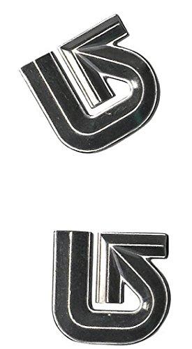Burton Aluminum Logo Mats, Silver ()