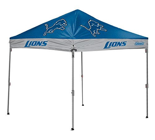NFL Instant Pop-Up Canopy Tent with Carrying Case, 10x10 by Coleman