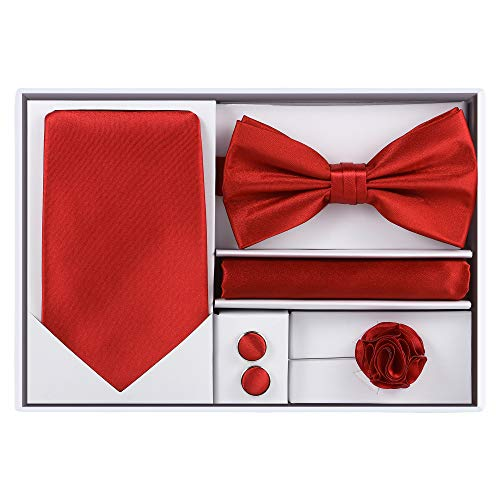 5pcs Tie set (Red)]()