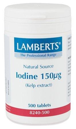Iodine 150mcg (Kelp Extract) 500 Tabletten LB