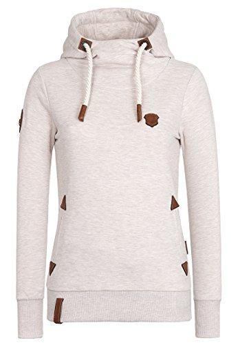 Oma Sweatshirt (Naketano Women's Hoody Schöne Klaus V Nasty Oma Melange, XL)