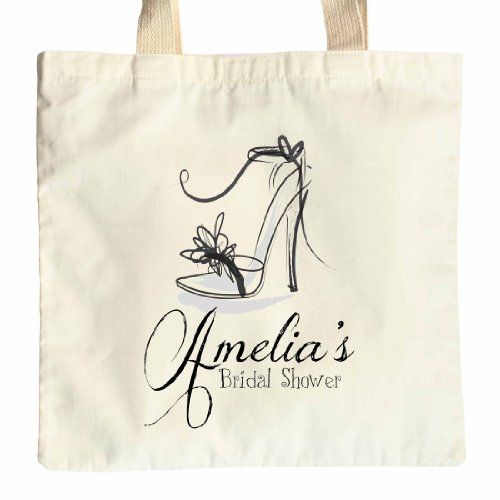 party gift tote Hen Personalised design cotton shower Bridal bag Shoe UOqtcwSp
