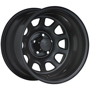Black Rock D Widow 15x10 Black Wheel / Rim 6x5.5 with a -44mm Offset and a 108.71 Hub Bore. Partnumber 942516037