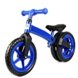 BLLL Balance Bike No Foot Pedal Riding Toys Suitable For Boys And Girls Aged 2-6 Scooter Baby Walke,Blue