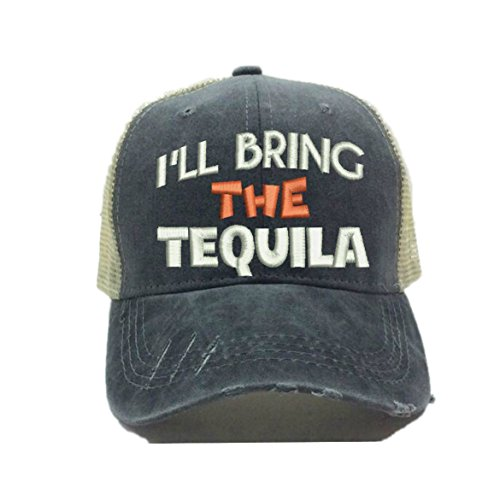 Adult Custom Distressed Funny Party Trucker Hat