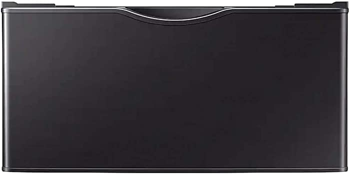 Samsung WE402NV 27 Black Stainless Laundry Pedestal