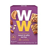 Weight Watchers Sweet and Salty Nut Bar New WW!