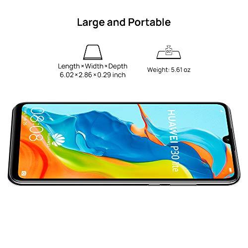 Huawei P30 Lite Smartphone, Dual SIM, 128 GB, 4 GB RAM - Midnight Black