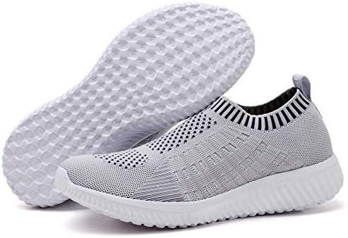 TIOSEBON Women Athletic Walking Shoes Casual MeshComfortable Work Sneakers