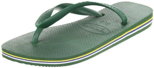 Havaianas Women's Brazil Sandal Flip Flop, Amazonia, 37 BR/7/8 W US (Amazonia Collection)