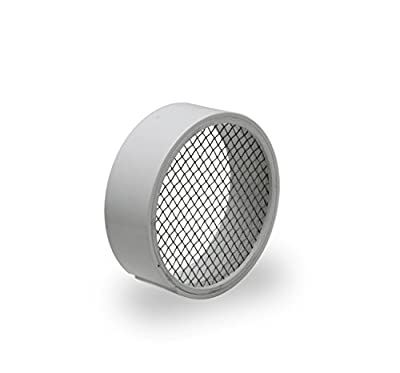 """Raven R1508 Traditional 2 Inch PVC Termination Ventwithstainless Steel Screen, 2"""""""