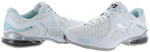 Em la zapatilla de deporte de Puma Cell Riaze Wn White/Clearwtare/Plum