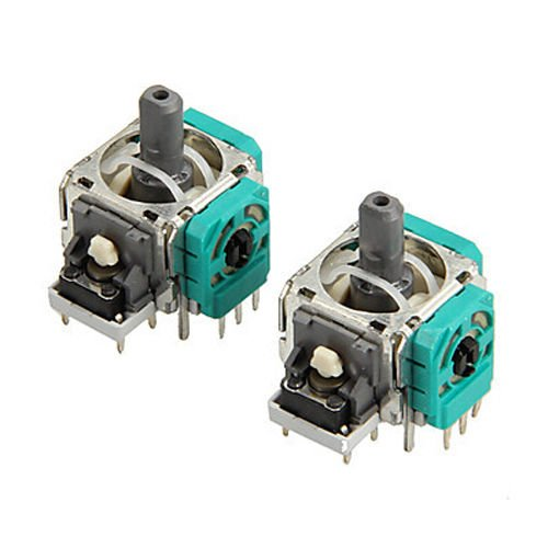 QJ 2X 3D Controller Joystick Axis Analog Sensor Module Replacement for Xbox One