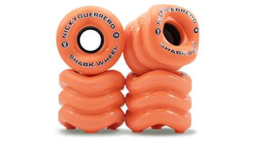 最近アヒルタバコShark Wheels California RollオレンジSkateboard Wheels – 60 mm 78 a ( Set of 4 )