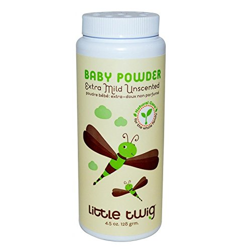 Little Twig Baby Powder Unscented, 4.5 Ounce 899947000040
