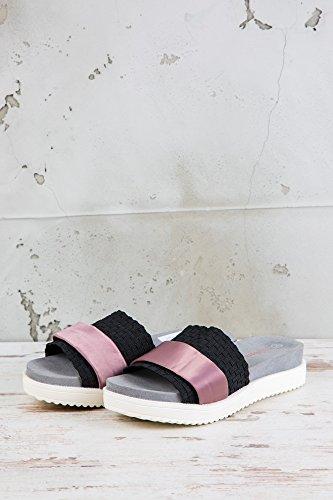 Bernie Mev Womens Sandals Black Schwarz G4QYxJBp8O