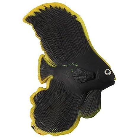Acuario de silicona DealMux Pecera Pez ángel decoración flotante del ornamento Modelo Negro Juguete: Amazon.es: Productos para mascotas