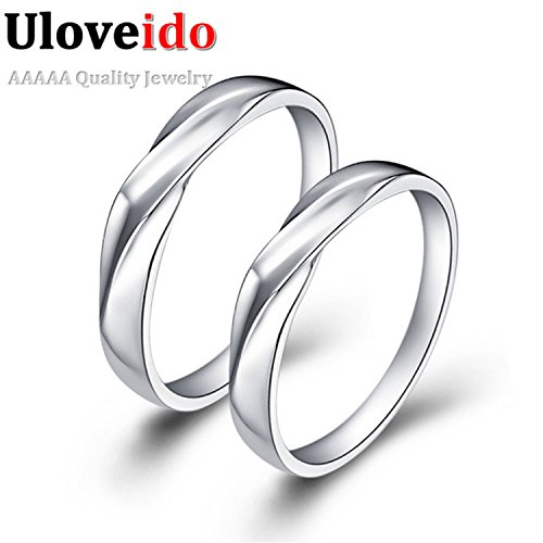 Myn Jewelry Wedding Ring Luxury Pair Fashion Jewelry Acessorios Para Mulher Silver Plated topaze mystique J008