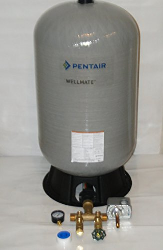 - WELLMATE PENTAIR WM6 WM-6 20 gallon quick connect + Brass tank tee install kit Free standing Water Well PRESSURE TANK