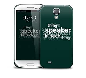 sherlock quote green Samsung Galaxy S4 GS4 protective phone case