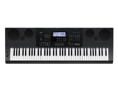 Casio WK6600 76-Key Workstation Keyboard with Power Supply by Casio
