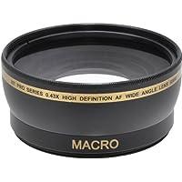 58mm 0.43 Wide Angle Lens Black, (XT58WAB)