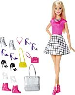 Barbie Doll with Shoes and Accessories