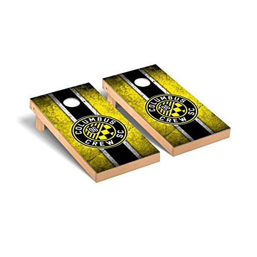 Victory Tailgate Columbus Crew MLS Soccer Desktop Cornhole Game Set Vintage Version by Victory Tailgate