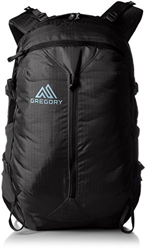Gregory Mountain Products Patos 28 Liter Daypack, True Black, One Size - Bus Bar Clip