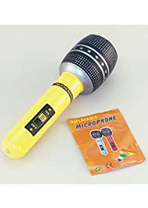 Bristol Novelty Micrófono Inflable de la Estrella del ...