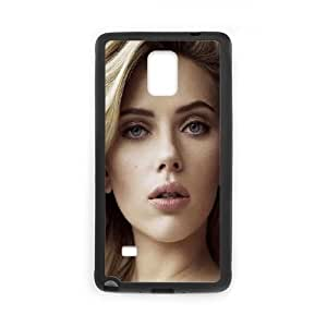 Samsung Galaxy Note 4 Cell Phone Case Black Scarlett Johansson Sexy Celebrity LSO7927998