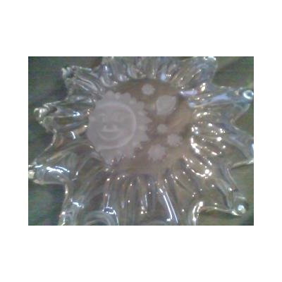 (CRYSTAL Celestial design Studio Nova STAR SERVER Fruit Bowl from the COLLECTION SIEBERSTERN made in)