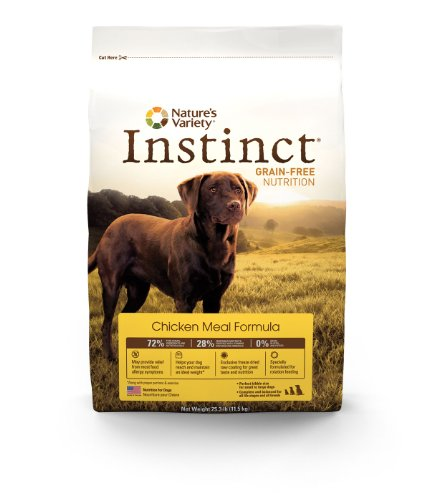Instinct Grain-Free Dry Dog Food, Chicken Meal Formula, 13.2-Pound Package, My Pet Supplies
