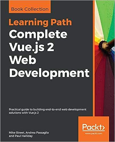 Amazon com: Complete Vue js 2 Web Development: Practical guide to
