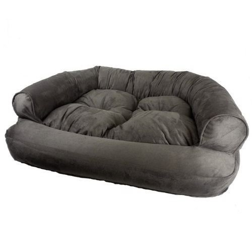 Bed Dog Donut Luxury (Snoozer Overstuffed Luxury Pet Sofa, Large, Dark Chocolate)
