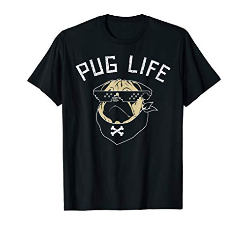 Pug Dog T-Shirt - Pug Life
