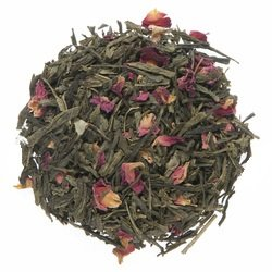 Cherry Rose Green Tea 50g / 1.75oz - 30+ Servings