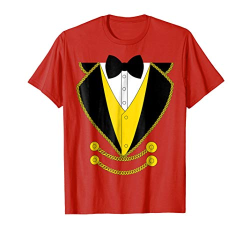 Ringmaster Costume Kids, Boys, Girls, Circus Shirt ()