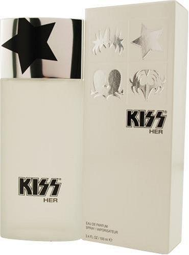 Embrasse-la par KISS pour les femmes, Eau De Parfum Spray Bottle 3,4 onces