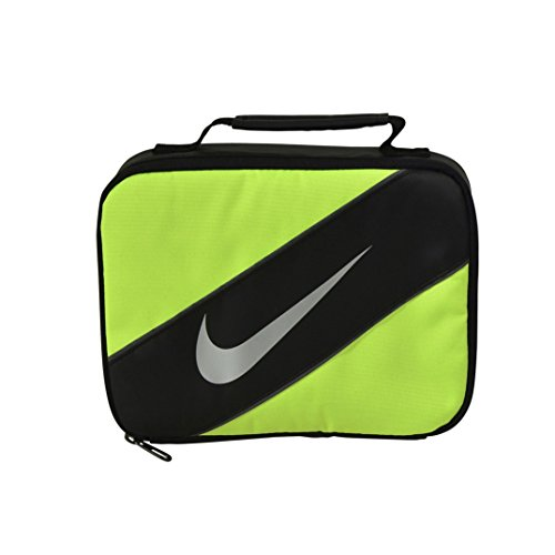 Nike Contrast Insulated Reflective Volt Tote Lunch Bag (Lunch Bag Big Phil)