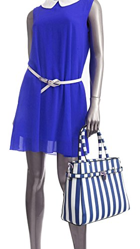 Multi Semi Patente Estampado Floral De Bolso La Diseño De Efecto Taleguilla Bolsa Diseño Hombro Blanco Tienda Grande Naranja Bolsillo Estructurado Del 4 ScqpnY8Z