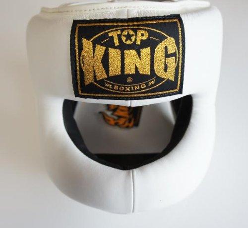 春夏新作モデル トップキング TOP KING ヘッドギア キックボクシングフルフェイス ヘッドギア B008U490AY 白 Lサイズ Lサイズ B008U490AY, アビックネットストア:fefc1d0d --- a0267596.xsph.ru