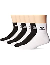 Mens Originals Cushioned 6-Pack Quarter Socks