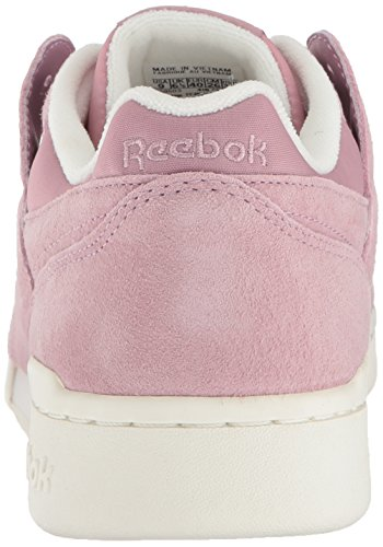 Women's Fashion Lilac Chalk Reebok Ankle Workout Infused Lo Sneaker Plus high Leather Rose BOqpwqC