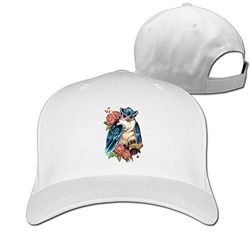 BUUMY Halloween Owl Unisex Latest Style Caps & Hats ()